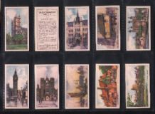 Cigarette cards The old Country English Countryside
